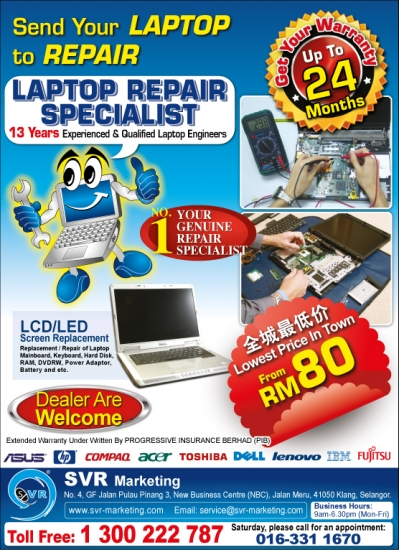 Promotion Laptop Repair